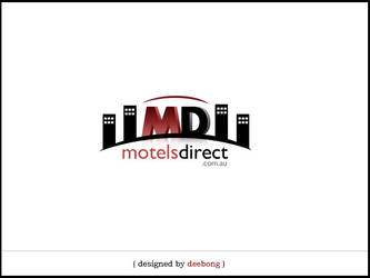 MotelsDirect Logo Design