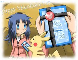 Valentine's - PKMN - Pearl