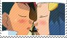 Stamp - SatoHika Kiss by Endless-Rainfall
