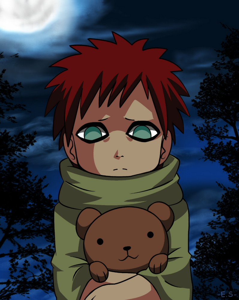 Little Gaara by Endless-Rainfall on DeviantArt Gaara And Naruto Kids