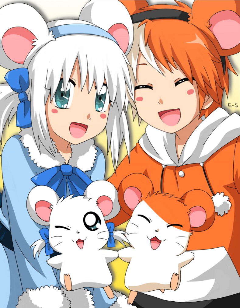 Hamtaro and Bijou :3 by Endless-Mittens
