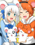 Hamtaro and Bijou :3