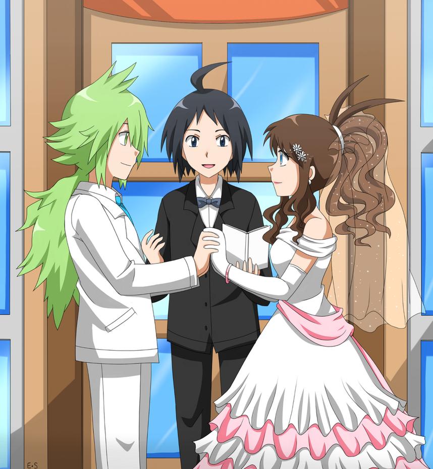 N and touko wedding - N And Touko Wedding 3