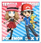 Pokemon XY: Serena and Satoshi