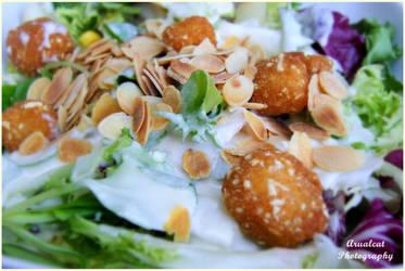 Healthy salad by arualcat