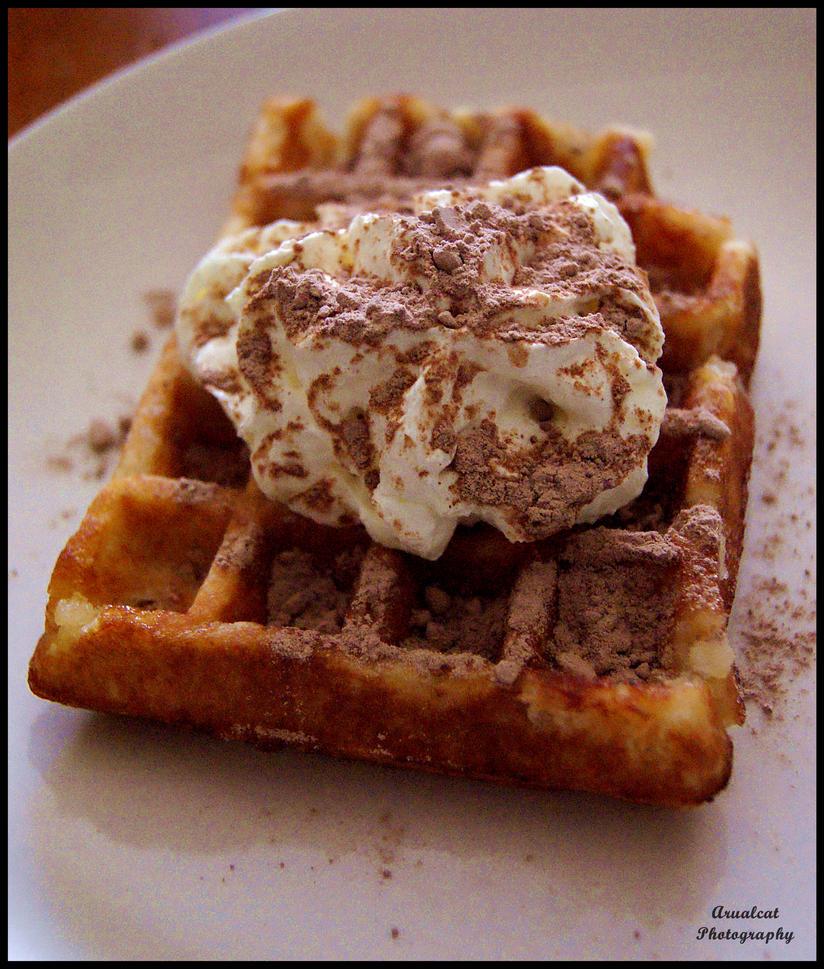 Sweet waffle by arualcat