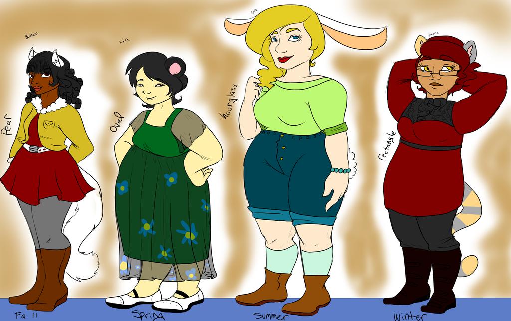 Body Types by kibarockz79