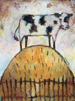Cow On Hill by usartdude