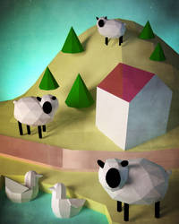 Sheep1 by usartdude