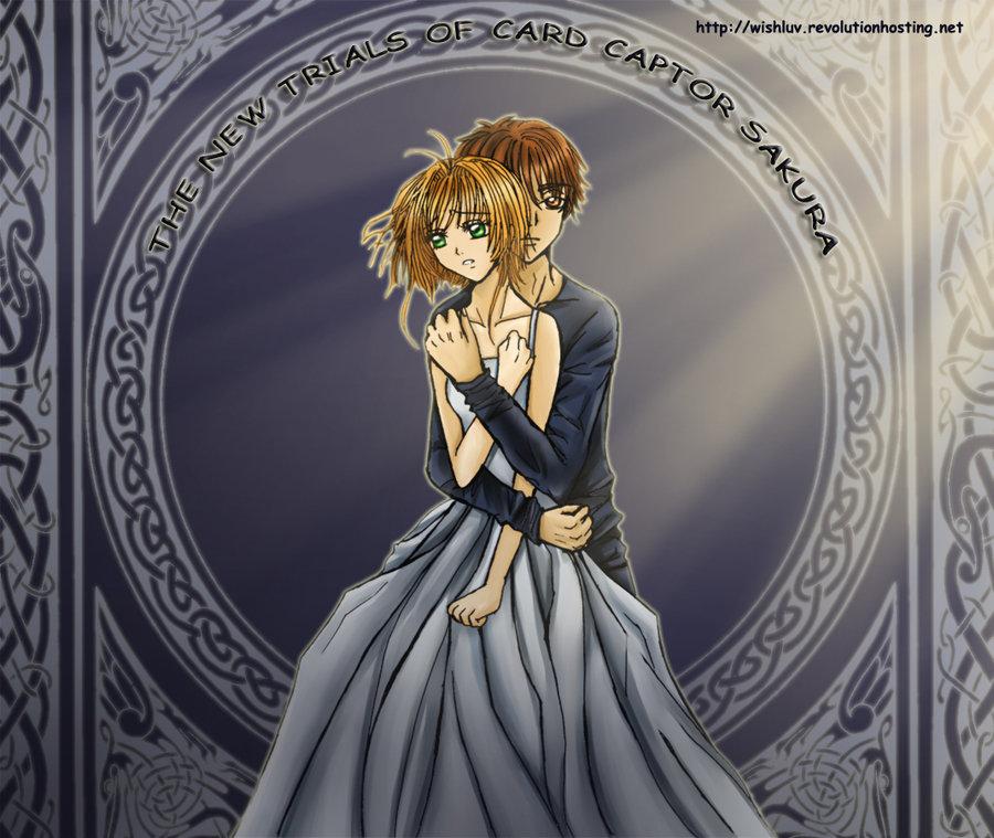 Sakura and Syaoran The Promise by wishluv by nikkilaput