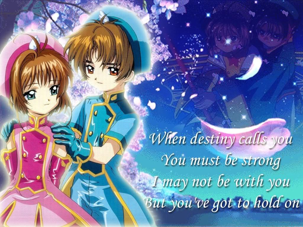 Sakura And Shaoran Qoutes ( Strong Without Me) by nikkilaput