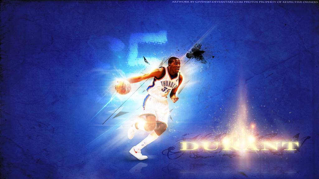 Kevin Durant 35 OKC Thunder Wallpaper HD By Givens87