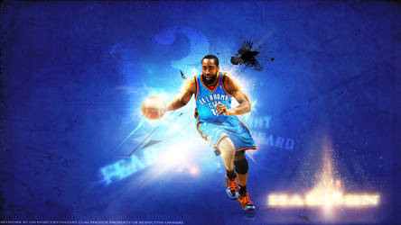James Harden Wallpaper #13 OKC Thunder Series HD by Givens87