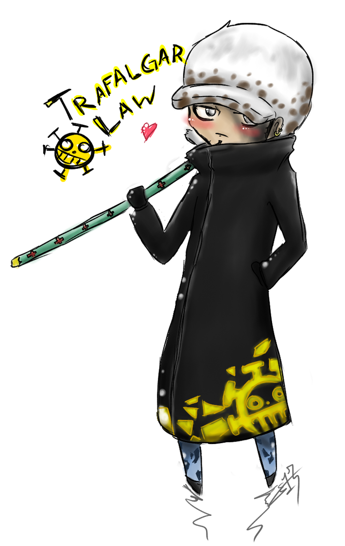 Trafalgar Law Chibi: Timeskip by RAWRforcaek on DeviantArt