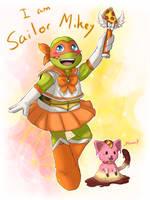 Sailor Mikey Moon by SpringSunshower