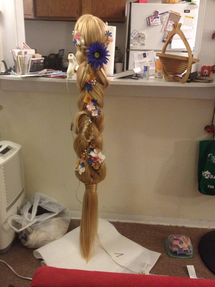 Rapunzel wig by La-Merwaffle