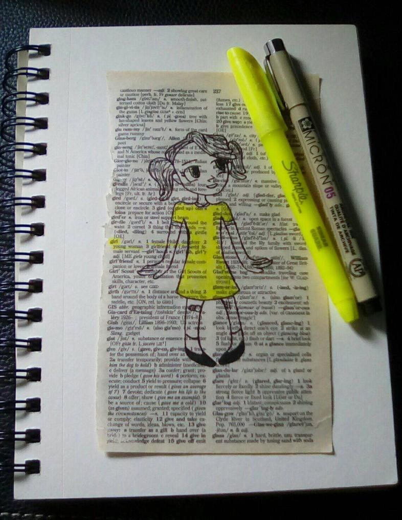 girl - n. female child by CaptainGandalf434