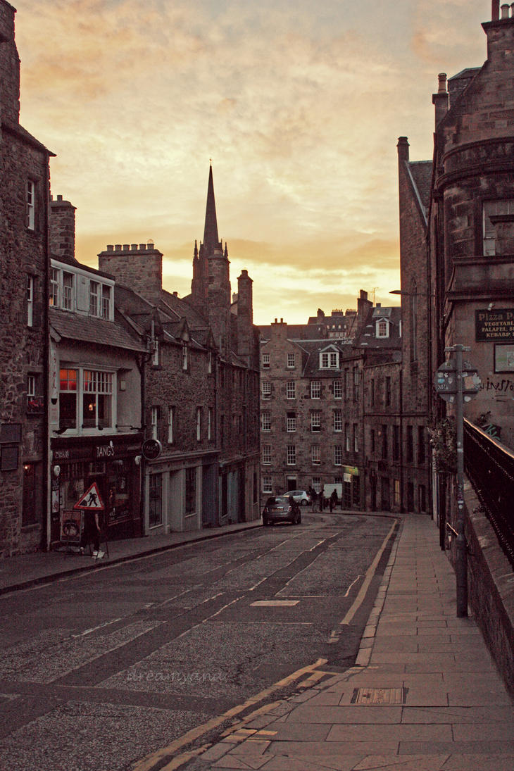 Candlemaker Row by dreamyana
