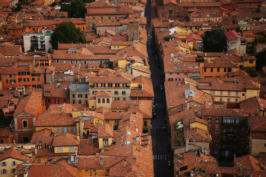 Bologna street by HappyKootie
