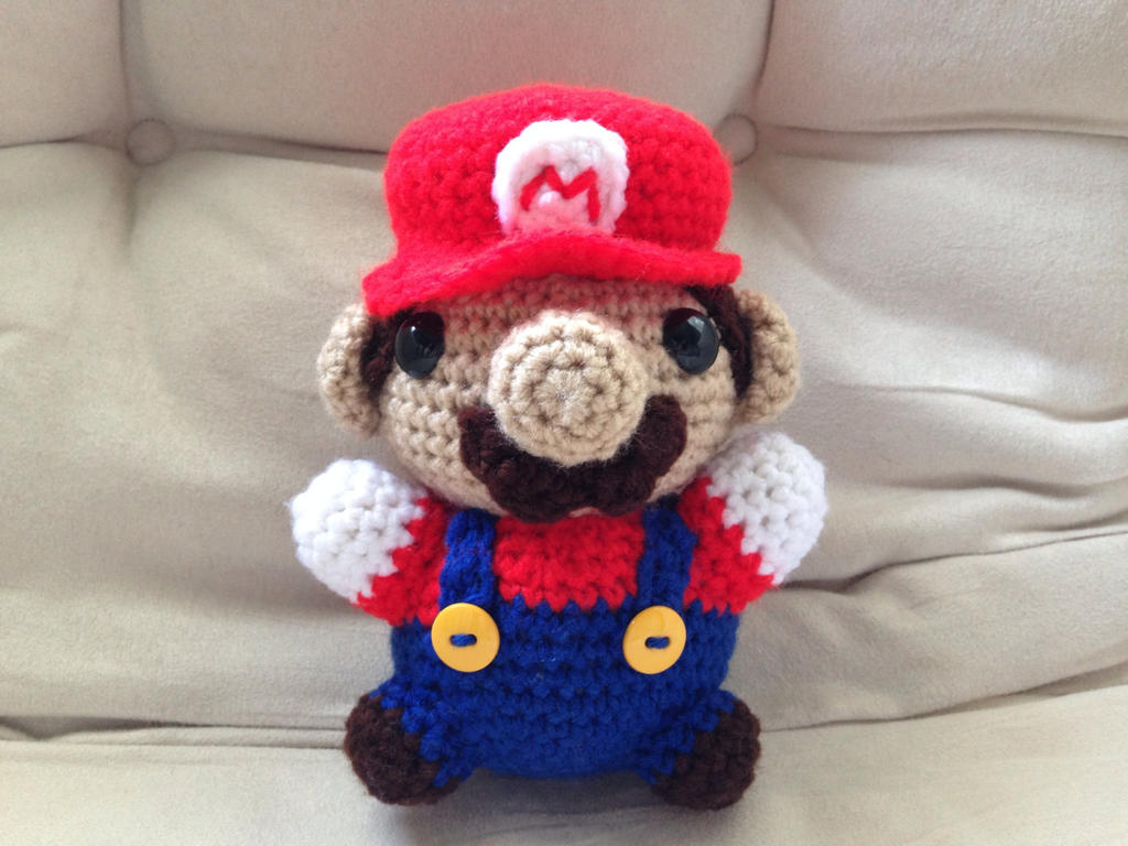 Amigurumi Free Patterns Beginners : Mario Amigurumi by The-love-of-Crochet on DeviantArt