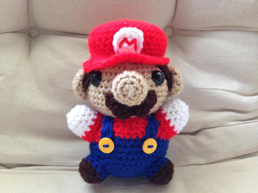 Mario Amigurumi by The-love-of-Crochet on DeviantArt