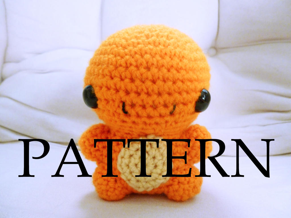 Charmander Amigurumi Pattern by The-love-of-Crochet on ...
