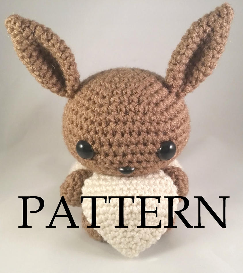 Love Of Crochet Com : Eevee Amigurumi Pattern by The-love-of-Crochet on DeviantArt