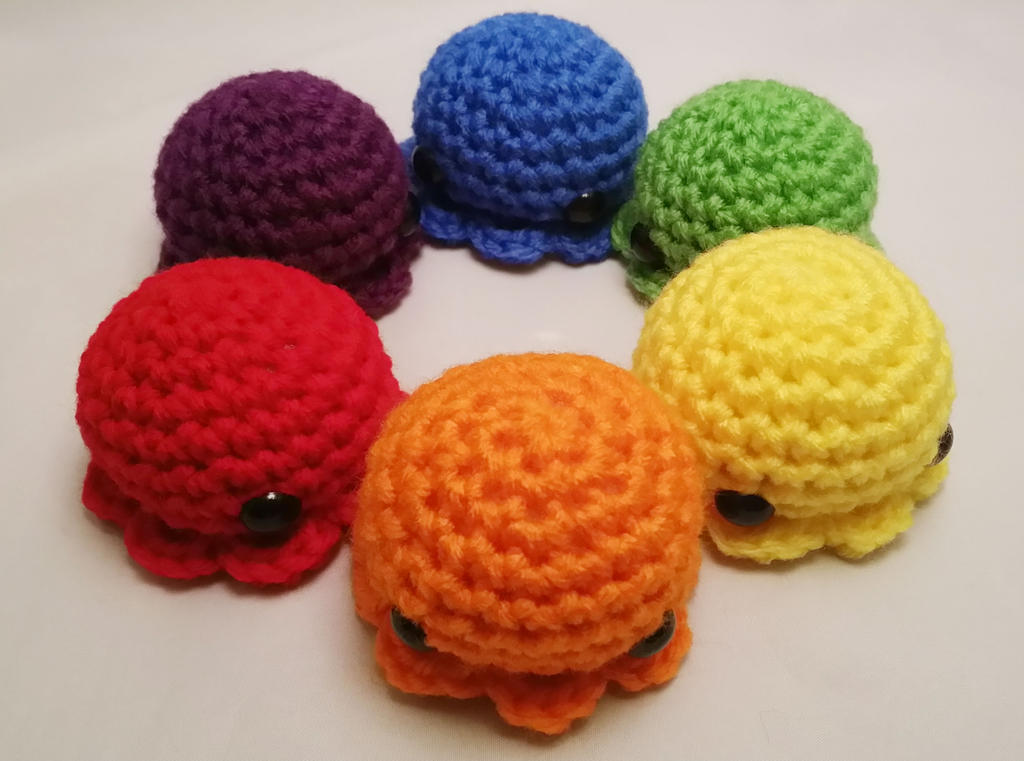 Amigurumi Octopus Mohu : Large octopus amigurumi by the love of crochet on deviantart