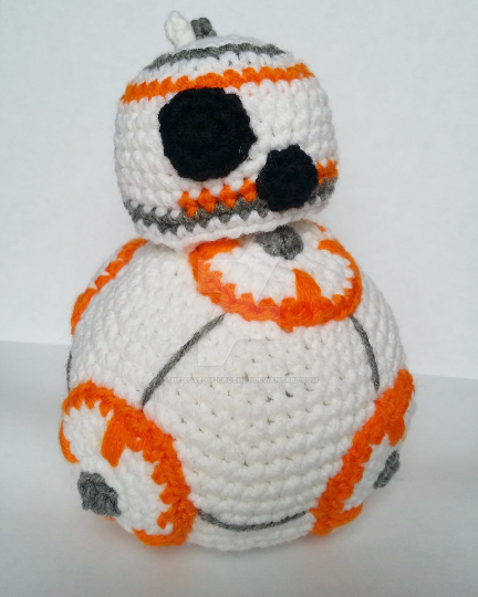 BB8 Amigurumi by The-love-of-Crochet on DeviantArt
