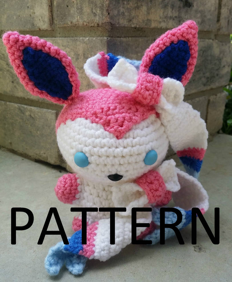 Sylveon Amigurumi Pattern By The Love Of Crochet On Deviantart