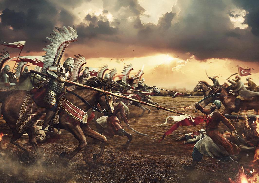 Polish Hussars 1683 by Keid