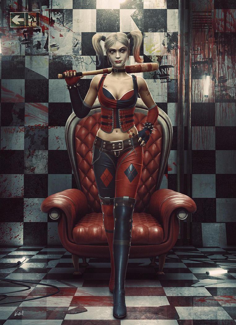 Harley Quinn by Keid