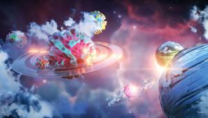 Stylized Cosmos