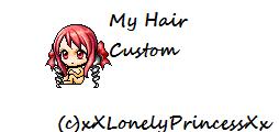 Custom Hair - Mixed Hair - by 4EverAlonei