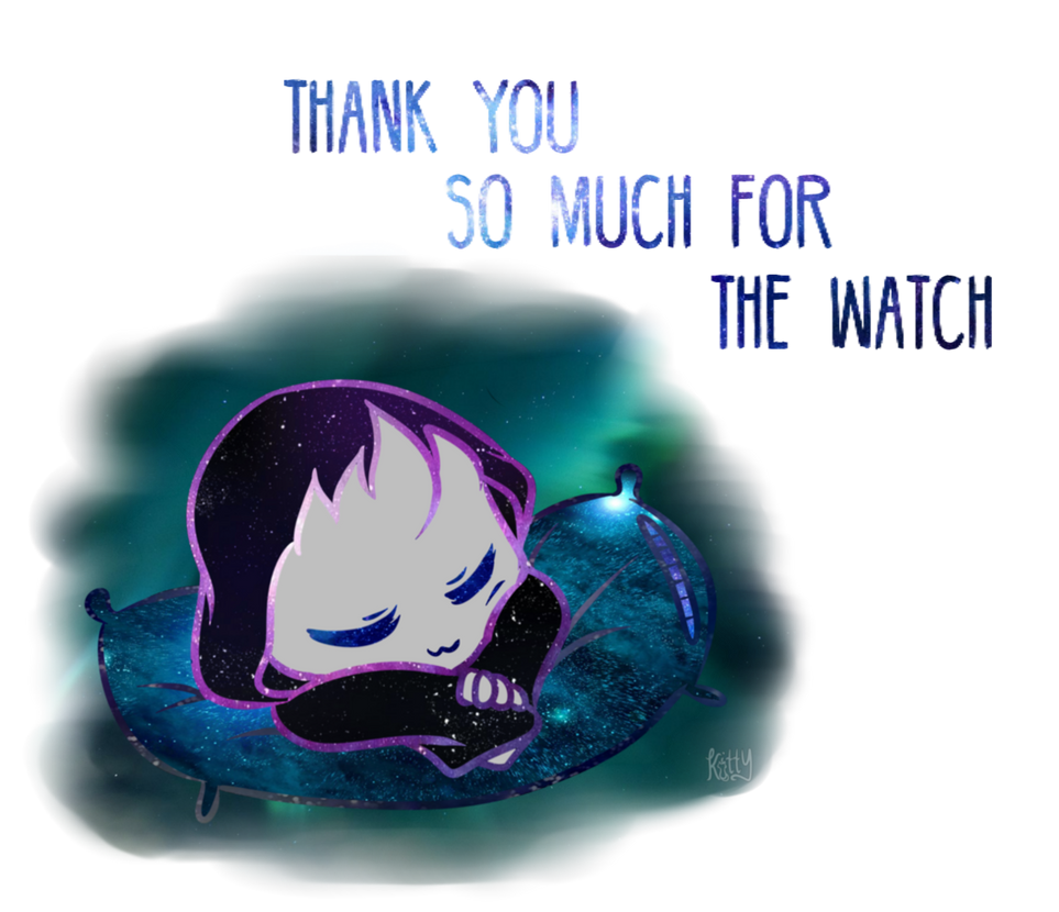 Thank You So Much For The Watch Universe Sleeping