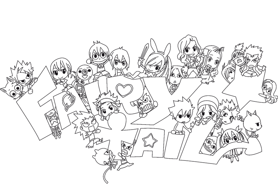 Fairy Tail Chibi Cap 295 By Redfiedsawnroberts On DeviantArt