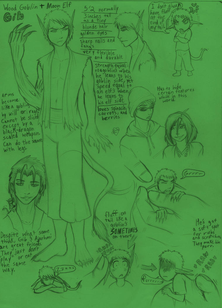Random Gib Doodles and Facts by Jessica-Rae-3