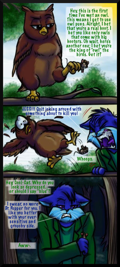 Mouse Jess S Puns Are Owl Ful By Jessica Rae 3 On Deviantart