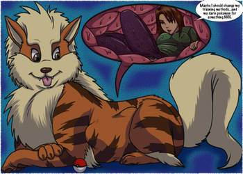 Arcanine Knows Swallow by Jessica-Rae-3