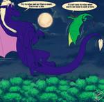 Ajarhmi Dragon form and Dragon-Jess