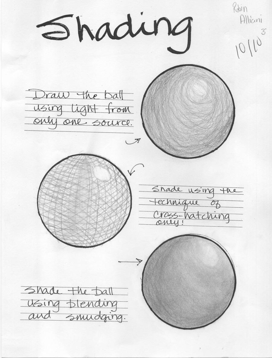 pencil shading techniques pdf free download