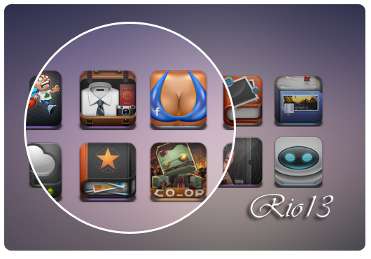 jones icon pack by raika20