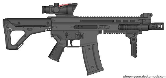 custom machine guns