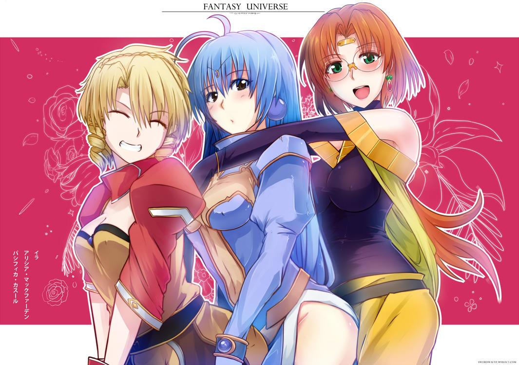 Girls from Fantasy Universe by Sword-Waltz