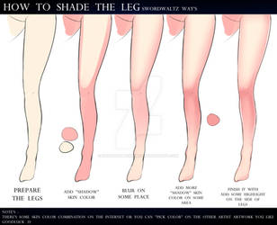 HOW TO SHADING THE LEGS