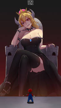 Giant Bowsette