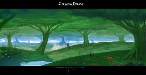 Elsfalica Forest by SwordwaltzWORKS