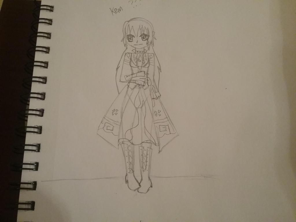 Sketchbook doodles (Kem oc) by creepergirl890