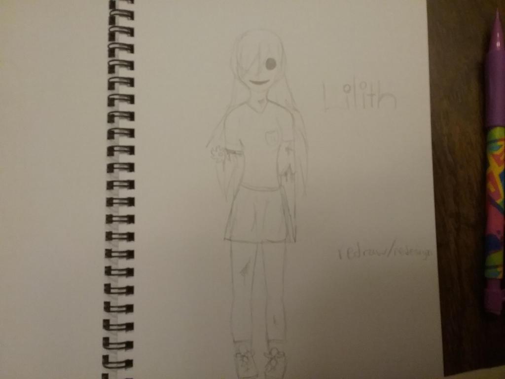 Creepypasta oc by creepergirl890
