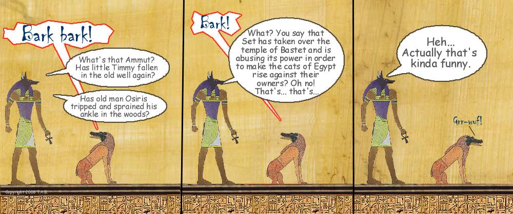 Gods of Egypt - Early Wyrm 5 by ServerusTare
